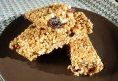 Preparar Barritas Energéticas de quinoa