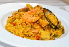 Receta para cocinar un delicioso Arroz con marisco