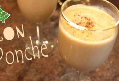 Receta para hacer un exquisito Ponche panameño con ron