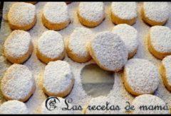 Receta tradicional de polvorones españoles