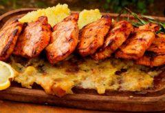 Vídeo-receta de cómo preparar Bifé de cerdo con Puré
