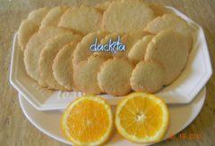 Vídeo-receta de cómo preparar Polvorones de naranja