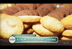 Vídeo-receta de cómo preparar unos exquisitos Polvorones de vainilla y chocolate