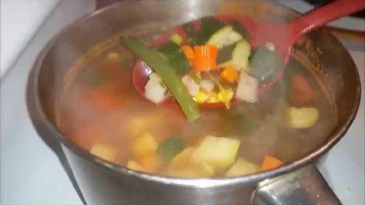 Cómo hacer Sopa Vegetariana