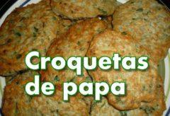 Cómo hacer Tortillitas De Papa / Patata