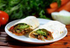 Cómo preparar Burritos vegetarianos