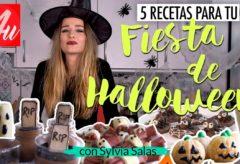 5 recetas fáciles para la fiesta con más miedo: Halloween