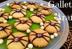 Preparar unas galletas araña para la noche de Halloween